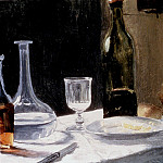Still Life With Bottles, Claude Oscar Monet