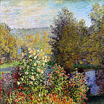The Corner of the Garden at Montgeron, Claude Oscar Monet