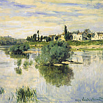 The Seine at Lavacourt, Клод Оскар Моне