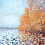 The Siene at Argentuil, Claude Oscar Monet