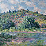 Claude Oscar Monet - The Banks of the Seine at Port-Villez