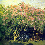 Claude Oscar Monet - Lilacs in the Sun, 1872. JPG