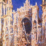 Rouen Cathedral, the Portal in the Sun, Claude Oscar Monet