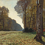 The Pave de Chailly, Claude Oscar Monet