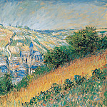 View over Vetheuil, Claude Oscar Monet