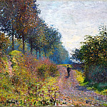 Claude Oscar Monet - The Sheltered Path