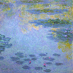 Water Lilies, 1906 04, Claude Oscar Monet