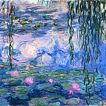 Water Lilies, 1916-19 02, Claude Oscar Monet
