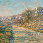 Road of La Roche-Guyon, Claude Oscar Monet