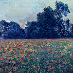 Poppies at Giverny, Claude Oscar Monet