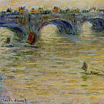 Waterloo Bridge 3, Claude Oscar Monet