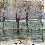 Claude Oscar Monet - Flood Waters