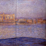 Claude Oscar Monet - The Doges' Palace Seen from San Giorgio Maggiore 3