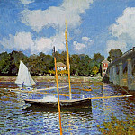 Claude Oscar Monet - The Bridge at Argenteuil