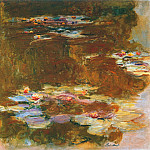 Claude Oscar Monet - Water Lily Pond, 1917 02