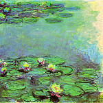 Claude Oscar Monet - Water Lilies, 1914-17 07