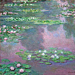 Water Lilies, 1905 02, Claude Oscar Monet
