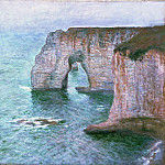 The Manneport Seen from the East, 1885 2, Claude Oscar Monet