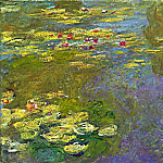 Water Lilies, 1919 03, Claude Oscar Monet