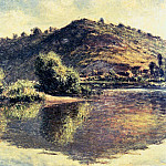The Seine at Port Villez, Claude Oscar Monet