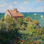 Claude Oscar Monet - Fisherman's Cottage at Varengeville