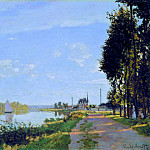 The Promenade at Argenteuil, Клод Оскар Моне