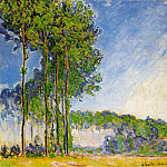 Claude Oscar Monet - Poplars, View from the Marsh
