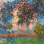 Claude Oscar Monet - The Artist's House in Argenteuil
