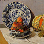 Still Life with Melon, Claude Oscar Monet