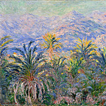 Claude Oscar Monet - Palm Trees at Bordighera