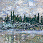 Claude Oscar Monet - Vetheuil on the Seine