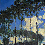 Клод Оскар Моне - Poplars on the Banks of the Epte
