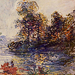 Claude Oscar Monet - The River