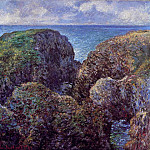 Claude Oscar Monet - Group of Rocks at Port-Goulphar