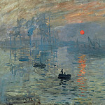 Impression, Sunrise, 1873 2, Claude Oscar Monet