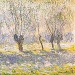 Willows, Giverny, Клод Оскар Моне