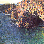 Claude Oscar Monet - The Grotto of Port-Domois