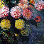 Dahlias 2, Claude Oscar Monet