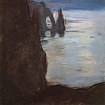 Etretat, the Needle Rock and Porte d'Aval, Claude Oscar Monet
