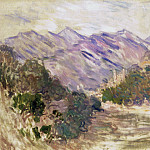 The Valley of the Nervia with Dolceacqua, Claude Oscar Monet