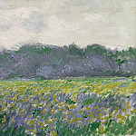 Field of Yellow Irises at Giverny, Claude Oscar Monet