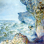 The Sea at Fecamp, Claude Oscar Monet