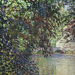 Watermill at Limetz, Claude Oscar Monet