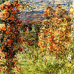Claude Oscar Monet - The House among the Roses 2