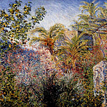 Claude Oscar Monet - The Valley of Sasso, Bordighera