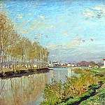 Argenteuil, The Seine, Клод Оскар Моне