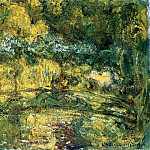 Claude Oscar Monet - The Japanis Bridge (Footbridge over the Water-Lily Pond)