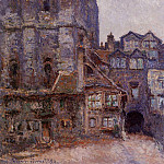 Claude Oscar Monet - The Cour d'Albane, Grey Weather
