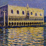The Palazzo Ducale 2, Claude Oscar Monet