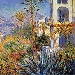 Villas at Bordighera 02, Клод Оскар Моне